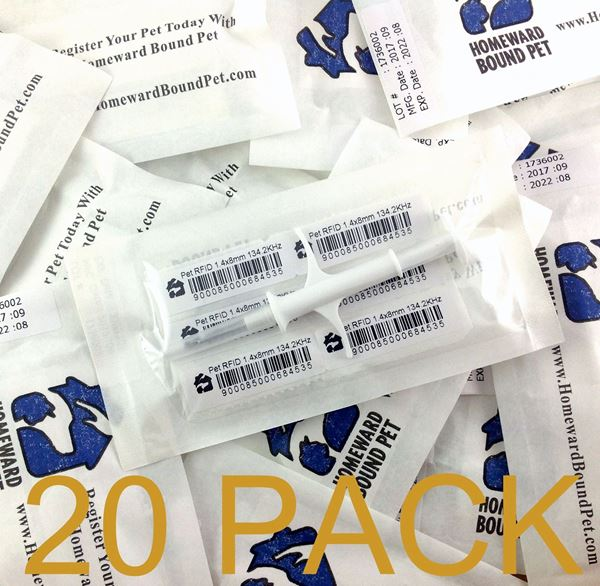 Picture of 20 Pack HBP Mini Microchips