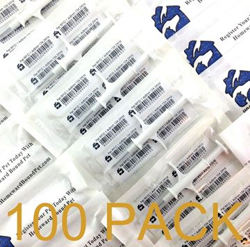 Picture of 100 Pack HBP Mini Microchips
