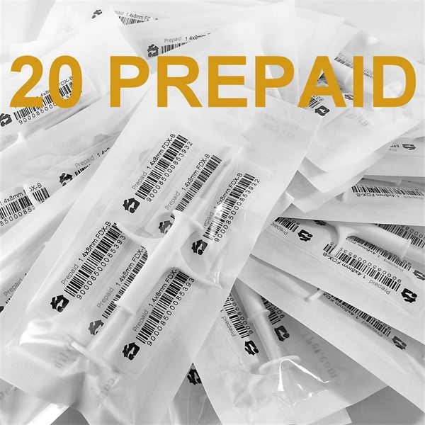 Picture of 20 Microchips with Prepaid Registration